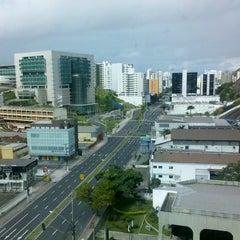 Photo taken at Ibis Budget Vitória by Arthur Poli on 7/11/2013