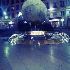 Photo taken at Place Louis Pradel by Marc C. on 4/21/2013