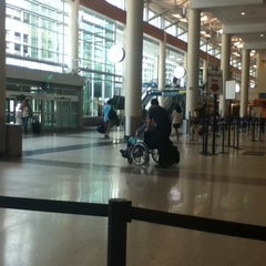 Photo taken at Minneapolis-St. Paul International Airport (MSP) by Annika M. on 7/20/2013