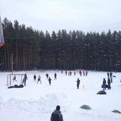 "Photo taken at Стадион ""Локомотив"" by Lucho C. on 1/12/2014"