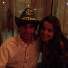 Photo taken at Brazilian Bull Steakhouse by Danielle M. on 1/5/2014