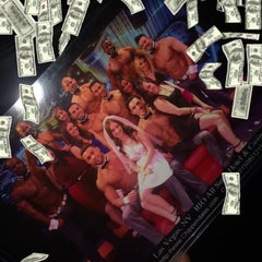 Photo taken at Chippendales Theatre at The Rio Vegas by Erin A. on 8/11/2015