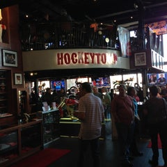Photo taken at Hockeytown Cafe by Brandon C. on 5/3/2013
