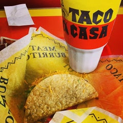 Photo taken at Taco Casa by Michael G. E. on 5/10/2014