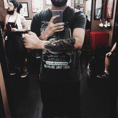 Photo taken at Black Ball Crew Tattoo Studio by Eduardo D. on 1/18/2015