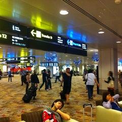Photo taken at Changi Airport Terminal 1 by Iwan S. on 12/2/2012