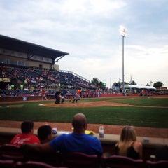 Photo taken at Whitaker Bank Ballpark by Bonnie N. on 6/29/2014