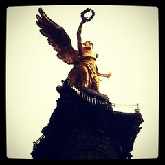 Photo taken at Monumento a la Independencia by Alex P. on 7/24/2013