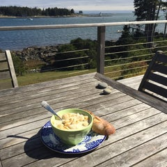 Photo taken at Hupper Island by Julia B. on 10/3/2015