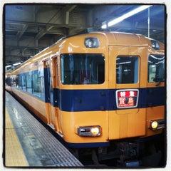 Photo taken at 大阪上本町駅 (Osaka-Uehommachi Sta.) by Yohei Y. on 12/31/2012
