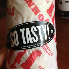 Photo taken at Jimmy John's by Jonathan P. on 7/6/2013