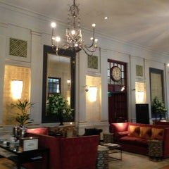 Photo taken at The Bloomsbury Hotel by Hitch Y. on 6/23/2013
