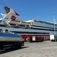 Photo taken at Ancona Ferries Terminal by Attila A. on 9/6/2013