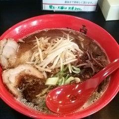Photo taken at らーめん点 by Tomohiro Y. on 3/16/2014