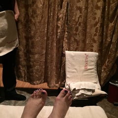 Photo taken at Feet First Reflexology & Massage Centre by $h🏇. on 8/24/2015