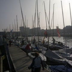 Photo taken at Jachthaven Scheveningen by Alex v. on 5/19/2013