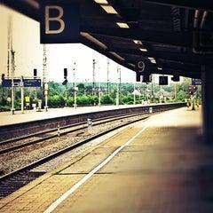 Photo taken at Bahnhof Hamm (Westfalen) by Daniel M. on 7/3/2013