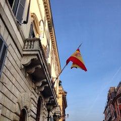 Photo taken at Embajada De España Ante La Santa Sede by Edgardo M. on 3/20/2014