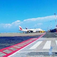 Photo taken at Ibrahim Nasir International Airport (MLE) by Ali T. on 5/10/2013