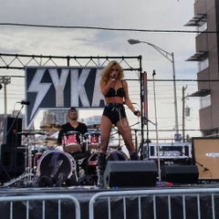 Photo taken at Hoboken Music And Arts Festival by Leslie G. on 9/27/2015