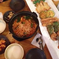 Photo taken at 교동전선생 by Rebecca L. on 9/25/2014