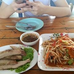 Photo taken at ร้านส้มตำภูไท by Katkad on 2/12/2015
