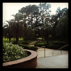 Photo taken at Strozier Library by Michael M. on 10/7/2012