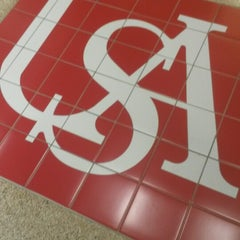 Photo taken at USA Student Center by Katherine B. on 5/30/2014