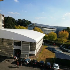 Photo taken at Audencia Nantes by Olivier D. on 10/3/2014