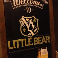 Photo taken at Little Bear L.A. Restaurant by Christelle C. on 8/11/2013