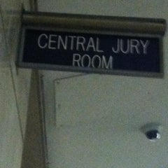 Photo taken at New York City Criminal Court by Mel S. on 10/2/2012
