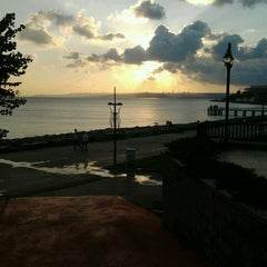 Photo taken at Florya Sahili by Şura B. on 7/18/2013