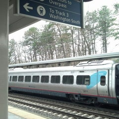 Photo taken at BWI Amtrak/MARC Rail Station (BWI) by Brittany A. on 4/11/2013