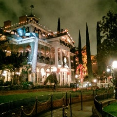 Photo taken at Haunted Mansion by Jim B. on 10/28/2013