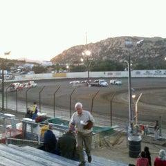 Photo taken at Barona Speedway & Dragstrip by Jamie on 10/30/2011