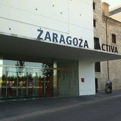 Photo taken at Zaragoza Activa by Gregorio L. on 9/20/2011