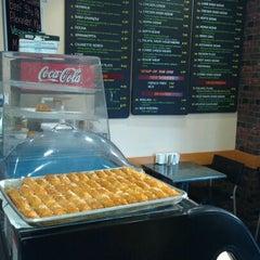 Photo taken at Cafe Falafel by K. W. on 3/11/2012