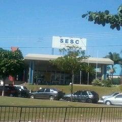 Photo taken at Serviço Social do Comércio (SESC) by Luan B. on 7/22/2012