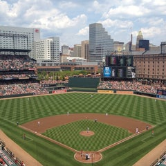 Photo taken at Oriole Park at Camden Yards by Erin M. on 6/24/2012