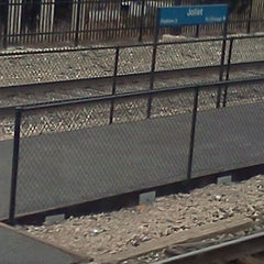 Photo taken at Amtrak/Metra Joliet Union Station (JOL) by CC M. on 1/31/2012