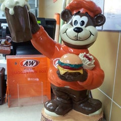 Photo taken at A&W by Subashini P. on 8/16/2012