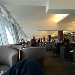 Photo taken at Qantas Club by Joanne J. on 7/21/2012
