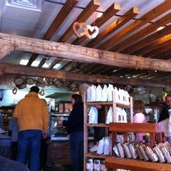 Photo taken at La Farm Bakery by Jen K. on 2/6/2011