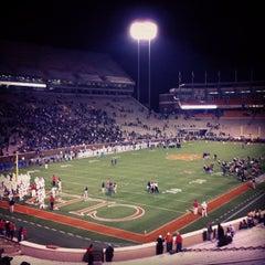 Photo taken at Memorial Stadium by Erik S. on 12/3/2011