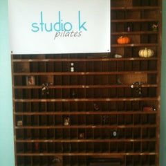 Photo taken at Studio K Pilates by Annie W. on 10/21/2011