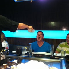Photo taken at Wasabi Japanese Steakhouse by Kimberly V. on 8/27/2011