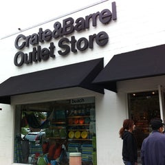 Photo taken at Crate & Barrel Outlet by Sean G. on 6/5/2011