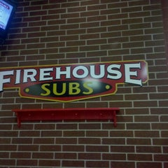 Photo taken at Firehouse Subs by Englebert H. on 4/14/2011