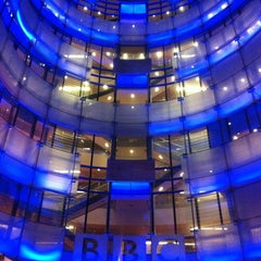 Photo taken at BBC Broadcasting House by Chris on 6/15/2012