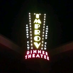 Photo taken at Improv Comedy Club and Dinner Theatre by Erica N. on 11/27/2011